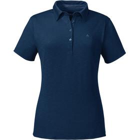 Schöffel Capri1 Polo Shirt Women dress blues